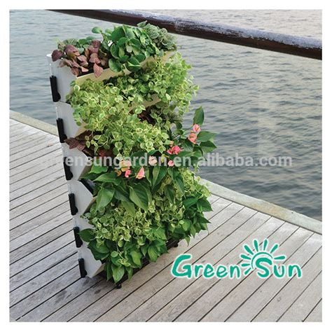 Self Watering Vertical Garden Diy Indoor Vertical Tower Garden Self Watering Planter