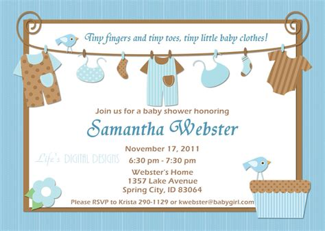 Baby Shower Invitation Card Ideas by Ideas For Boys Baby Shower Invitations Free Printable