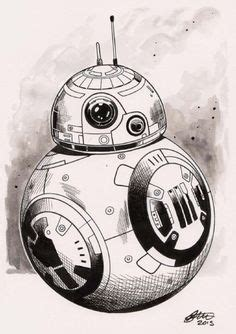 Bb8 Drawing Outline by Bb 8 Droid Poster Bb 8 Print Wars Bb 8 Bb 8 Outline Wars Wars Print Outer