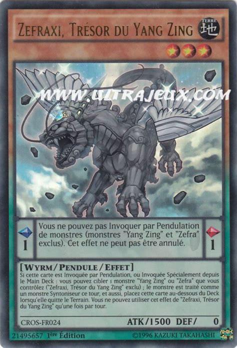 Zefraniu Secret Of The Yang Zing Cros En025 carte yu gi oh zefraxi tr 233 sor du yang zing cros fr024