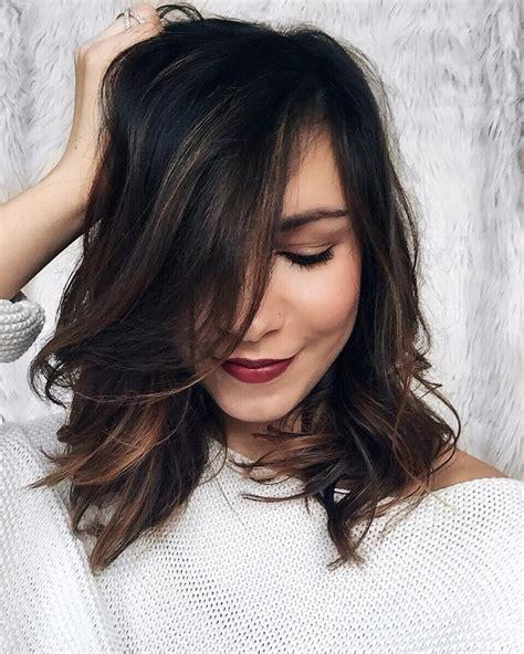 dark brown hair over 50 35 dark brown colored balayage hairstyles 2017 hairstyle
