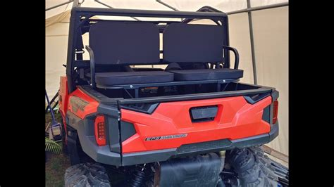 polaris ranger bed seat utv rumble seats back dump bed seats polaris general