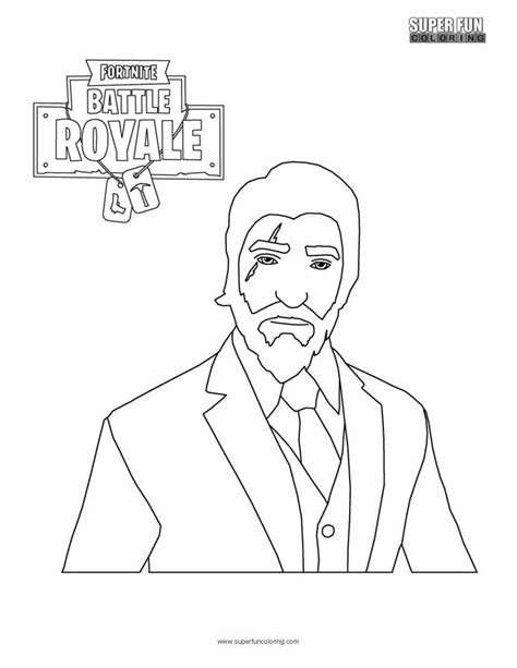 Coloring Page Fortnite by Unofficial Fortnite Coloring Book Coloring