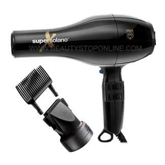 Solano Hair Dryer Attachments solano 232x hair dryer w 2 in 1 attachment