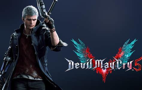 wallpaper dmc nero devil  cry  videogame images