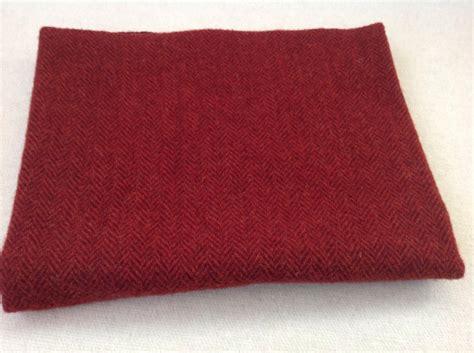 rug hooking wool garnet herringbone wool fabric for rug hooking and