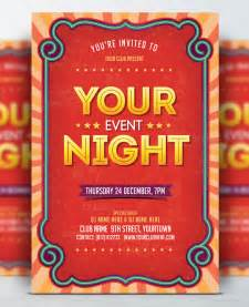 Free Event Flyer Templates by Event Flyer Templates Free Www Pixshark Images