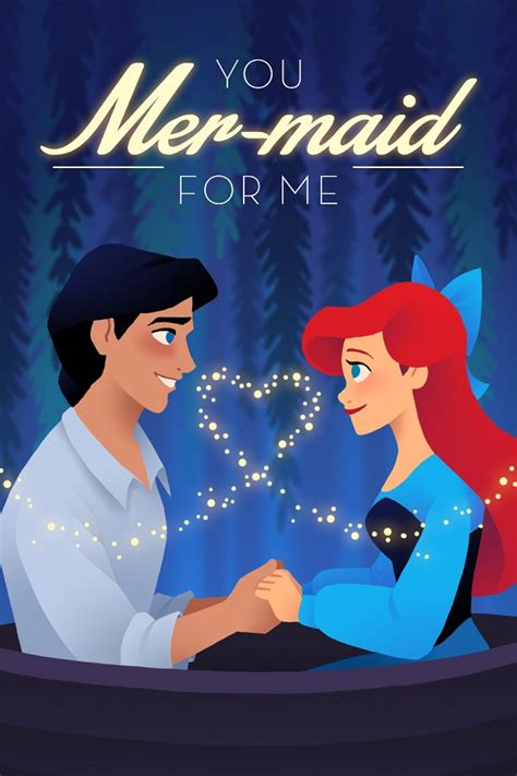 this couple really really loves disney say i love you with these sweet disney themed valentine