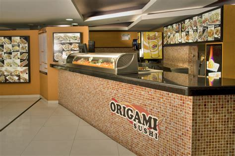 Origami Restaurant - origami sushi franchise opening in in 14