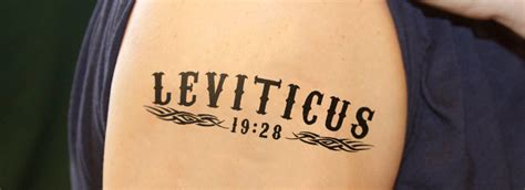 tattoos leviticus scripture and tattoos cl divinity school