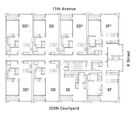 Icon Condo Floor Plan | icon floor plan 3