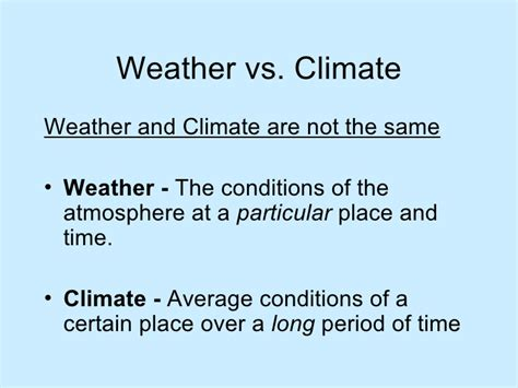 time difference and climate climate factors ppt