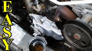 how to change a waterpump in a jeep