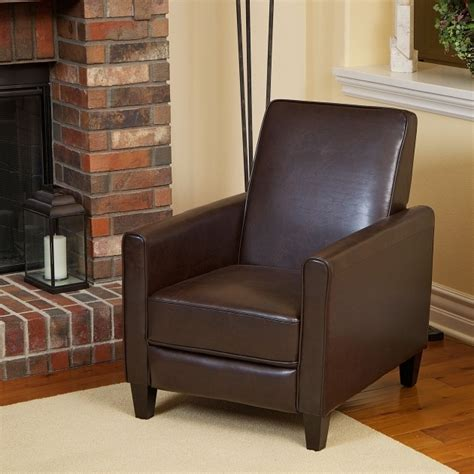 small reclining club chair small leather recliners big man recliner lafer recliner