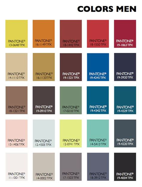 manly colours lenzing color trends autumn winter 2015 2016 men about