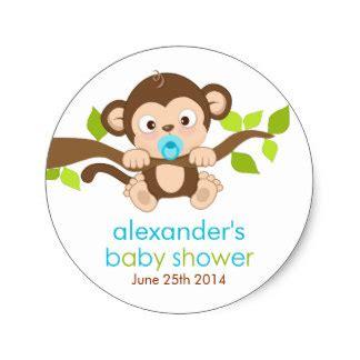 Monkey Boy Baby Shower by Monkey Gifts On Zazzle