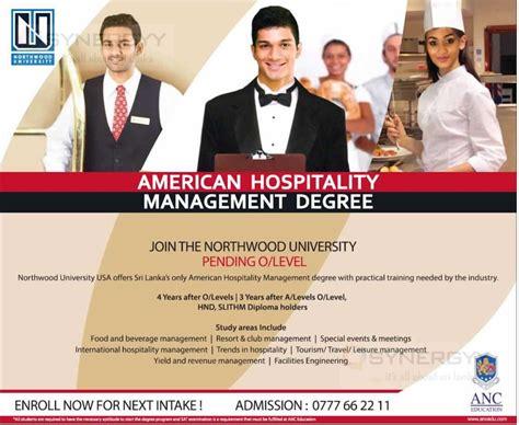 hospitality management programs 80 online hospitality foreign degree programmes for sri lankan students