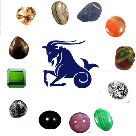 gemstone for capricorn must be worn birthstones and