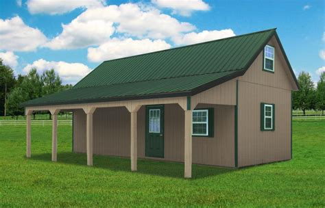 Story And Half House Plans by Two Story Barns Pine Creek Structures
