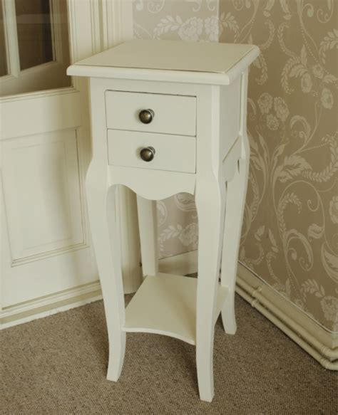 Small Bedside Tables With Drawers by Ivory Bedside Small Chateau Side Table 2 Drawers Ornate