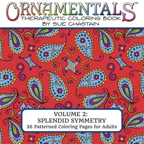 ornamentals splendid symmetry coloring book with