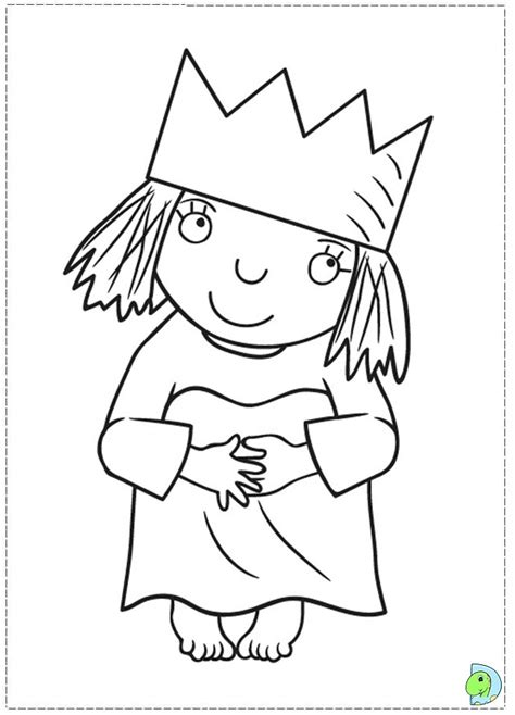 little princess coloring page dinokids org