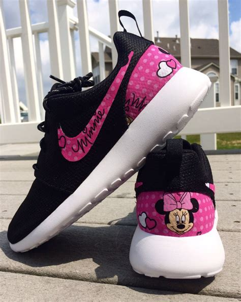 Shoes Import Mouse Pink pink minnie mouse nike custom roshe