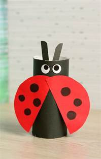 toilet paper roll bee craft for easy peasy and toilet paper roll ladybug craft easy peasy and