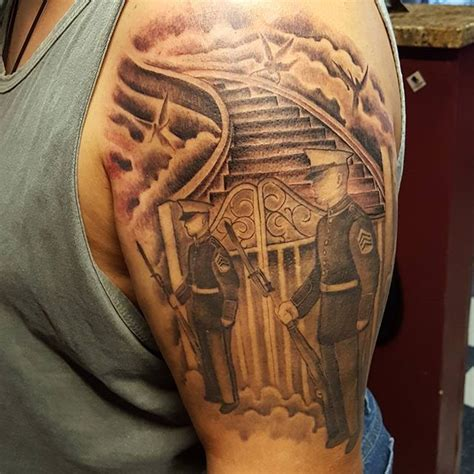 3d tattoo virginia combat veteran memorial 3d tattoo veteran ink