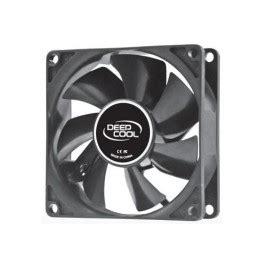 Kipas Deepcol Xfan 8cm Black Hydro Bearing deepcool 80mm hydro bearing fan with 4 pin molex connector