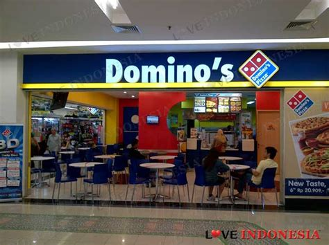 domino pizza palembang domino s pizza giant cbd bintaro love indonesia
