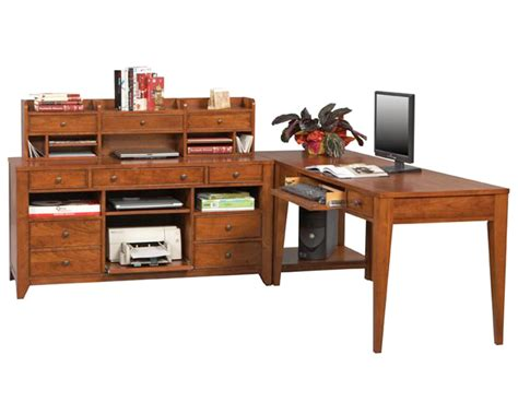 Winners Only Corner Home Office Set With Writing Desk Wo Writing Desks Home Office
