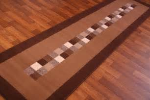 chocolate brown modern runner rug cheap