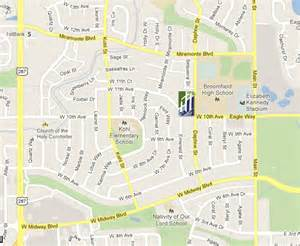 map of broomfield colorado maps and directions