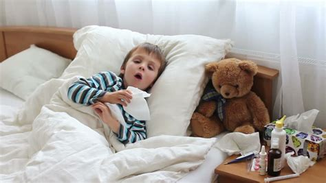 coughing in bedroom only coughing child stock footage video shutterstock