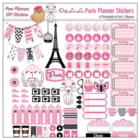 3d Sticker Paris by Mega Paris Kit Free Paris Stickers Biblejournallove