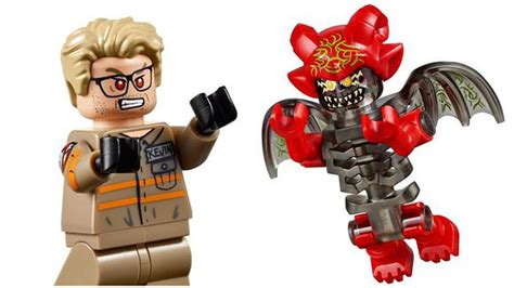 lego ghostbusters house lego ghostbusters set includes tiny melissa mccarthy chris hemsworth polygon