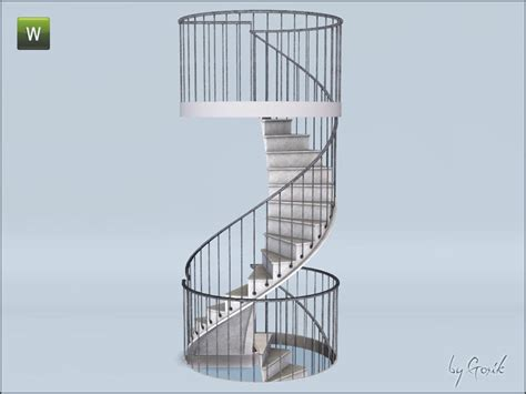 gosik s urban spiral stairs and railings