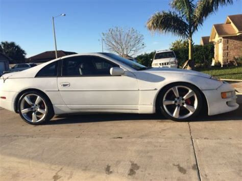 nissan 300zx white find used nissan white 300zx z32 fair turbo