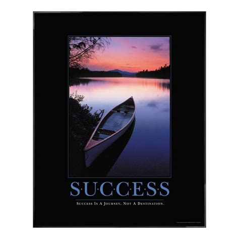 Poster Quotes Motivation Qm040 quot success is a journey not a destination quot motivation success quote motivational