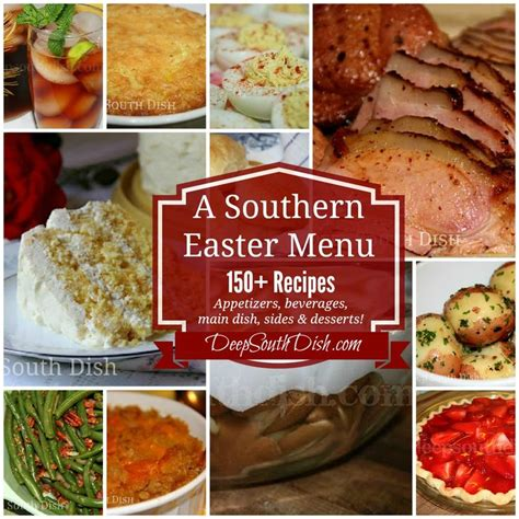 easter lunch buffet menu ideas southern easter menu ideas and recipes south dish