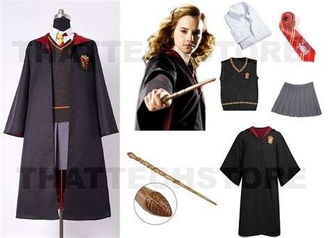 costume hermione granger harry potter hermione granger gryyfindor house