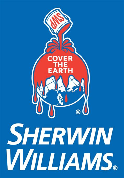 sherman williams sherwin williams quot cover the earth quot logo logos pinterest logos the o jays and the earth