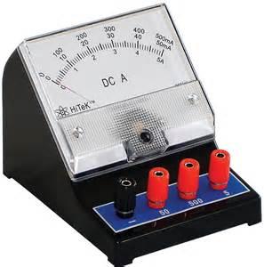 Bench Brand Dc Ammeter Frey Scientific Amp Cpo Science