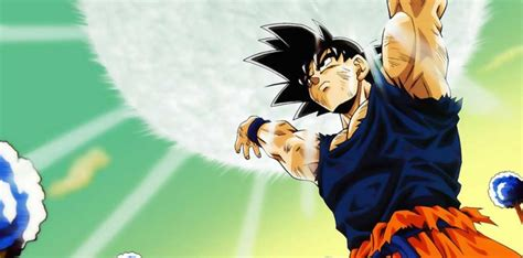 imagenes de goku haciendo la genkidama dragon ball la genkidama es el mejor poder de todos y te