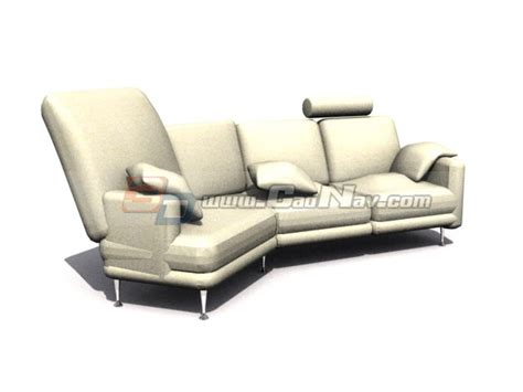 Bed Musterring by Musterring Sofa Bed 3d Model 3ds Max Files Free