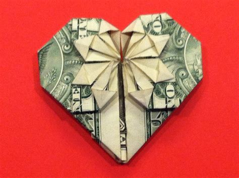 How To Make Origami With A Dollar Bill - origami dollar tutorial how to make a
