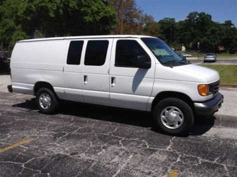 how does cars work 2004 ford e series engine control sell used diesel 2004 ford econoline cargo van e 350 super duty powerstroke in jacksonville