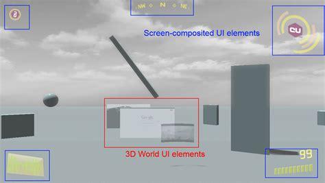 rift ui layout editor modern game ui in virtual reality witch oculus rift part 2