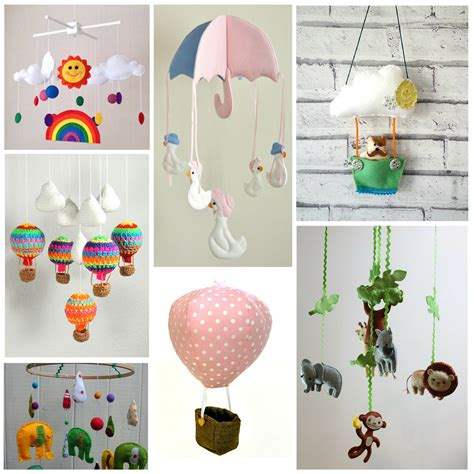 Handmade Nursery Mobiles - handmade mobiles plus win a diy mobile book